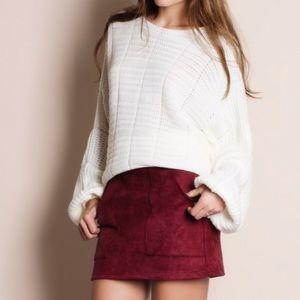 🆕 Balloon Puffy Sleeve Oversized Sweater